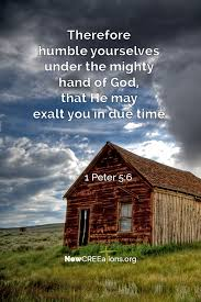 humble yourself 1 peter 5 6