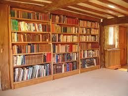Oak Bookshelves by Fitted Oak Bookcase Ancient Timber Frame Oak Shelves