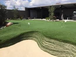 Artificial Grass Backyard by Celebrity Greens U2013 Artificial Putting Greens Synthetic Grass