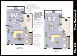 Open Living Space Floor Plans by Room Furniture Layout Software Affordable Interior Designing