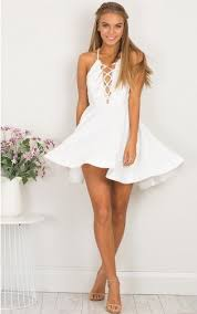 white party dresses white homecoming dress party dress formal dress summer