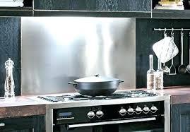 tole inox pour cuisine tole inox pour cuisine plaque inox brosse pour cuisine comment