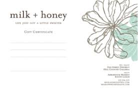 email gift certificates gift certificates order online salon by milk honey