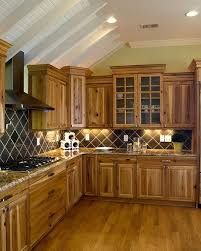 Best  Hickory Kitchen Ideas On Pinterest Rustic Hickory - Hickory kitchen cabinets pictures