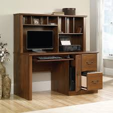 amazon com sauder orchard hills computer desk with hutch in