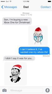 Text Message Meme - sms rage faces touche apps