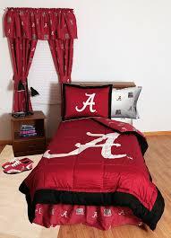 Alabama Bed Set Alabama Crimson Tide Collegiate Drapes Ncaa