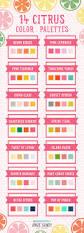 14 citrus color palettes color inspiration color combos and