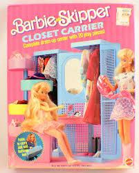 Barbie And Skipper Closet Carrier New In Original Box Dress Up