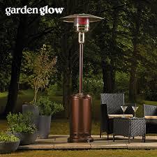 patio heater reflector garden glow 13kw gas patio heater bronze thompson u0026 morgan