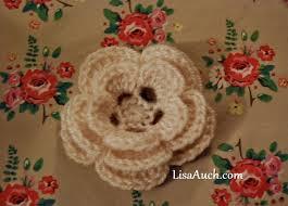 Free Pattern For Crochet Flower - best 25 free crochet flower patterns ideas on pinterest