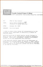 College Letter Of Recommendation From Letters Of Recommendation For High School Students Images Letter
