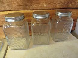 brown tea coffee sugar canisters 1c1 info