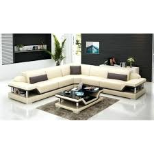 Modern Corner Sofa Bed Modern White Leather Corner Sofa Bed Black Gradfly Co