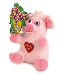 Baby Keychains Jfl Enterprises Musical Keychains Crazy Animals Pig