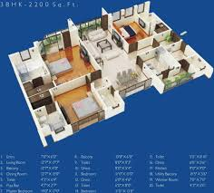 2200 sq ft 3 bhk 4t apartment for sale in jaypee greens the