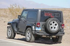 modified jeep wrangler 2 door 2018 jeep wrangler mule spied again
