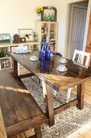 How To Build A Farmhouse Table Diy Farmhouse Table