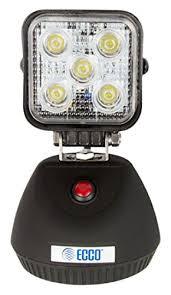 ecco led offroad lights amazon com ecco ew2461 na led light flood beam magnetic