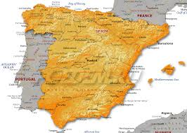 Map Of Spain Regions by Map Of Spain