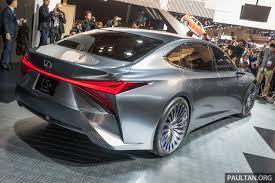 big lexus car tokyo 2017 lexus ls concept u2013 autonomous luxury