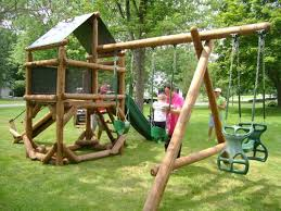 Best Backyard Play Structures 79 Best Playhouses Forts Playsets Images On Pinterest