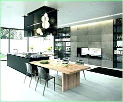 island tables for kitchen modern kitchen with island and table view in gallery kitchen island
