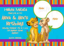 shark birthday invitation lion king birthday invitations marialonghi com