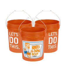 Plant Dolly Home Depot by The Home Depot 5 Gal Homer Bucket 3 Pack 05glhd2 The Home Depot