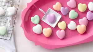 conversation heart mini conversation heart cookies recipe bettycrocker