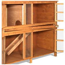 the hutch company chartwell double rabbit hutch free uk delivery