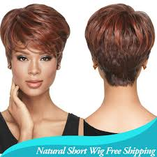short hairstyle wigs for black women 1pc african american short hairstyles wigs for black women