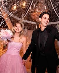 Celebrity Wedding Dresses Celebrity Brides Who Wore Pink Wedding Dresses Martha Stewart