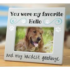 dog memorial pet memorial picture frame bereavement photo frame for dog or