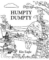 humpty dumpty coloring page belon coloring pages gallery 30957