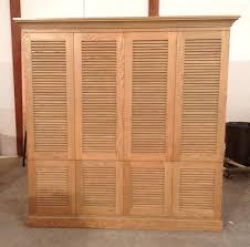 bifold louvered closet doors bifold wood louver closet door with