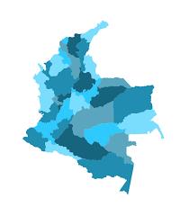 colombia map vector mapa político de colombia en vectores usabilidad y ux en colombia