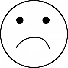 sad face coloring page funycoloring