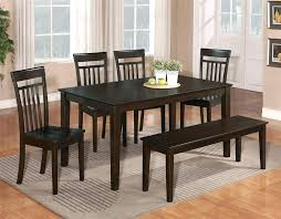 dining room table bench set farmhouse dining table bench plans
