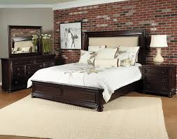 samuel lawrence furniture chandler low profile bedroom set in