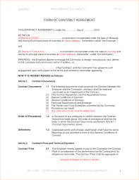 sample sale contract simple sales invoice template corporate