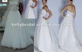 wedding dress batik popular low back silk with sash wedding dresses buy silk