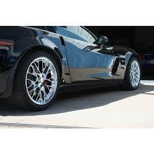 chrome corvette wheels zr1 style wheels for c5 and z06 corvette