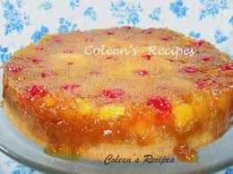 coleen u0027s recipes fresh pineapple upside down cake
