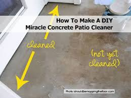 Can You Tile Over Concrete Patio by 2cement Cleaner Recipe1 Jpg