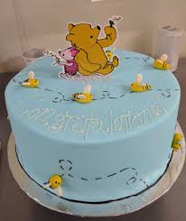 winnie the pooh cakes baby shower
