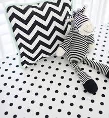 black polka dot crib sheet modern baby crib sheets black crib