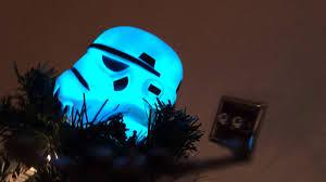 2015 star wars stormtrooper christmas tree youtube