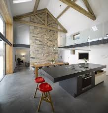 gorgeous 16th century barn in yorkshire gets a restrained modern
