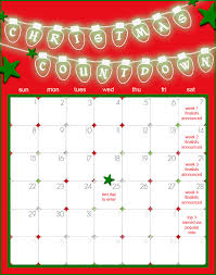 christmas countdown calendar christmas countdown decorating challenge cookie connection